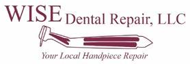 dental handpiece repairs and equipment - wise dental logo
